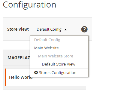 Magento 2 How to Create System xml Configuration – Mageplaza