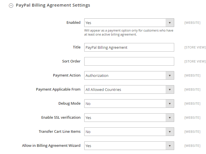 How To Configure Paypal Express Checkout Payment Method In Magento 2