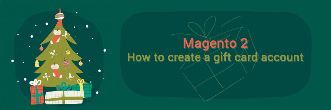 How to create a gift card account in Magento 2 default