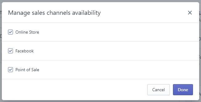 choose sales channels