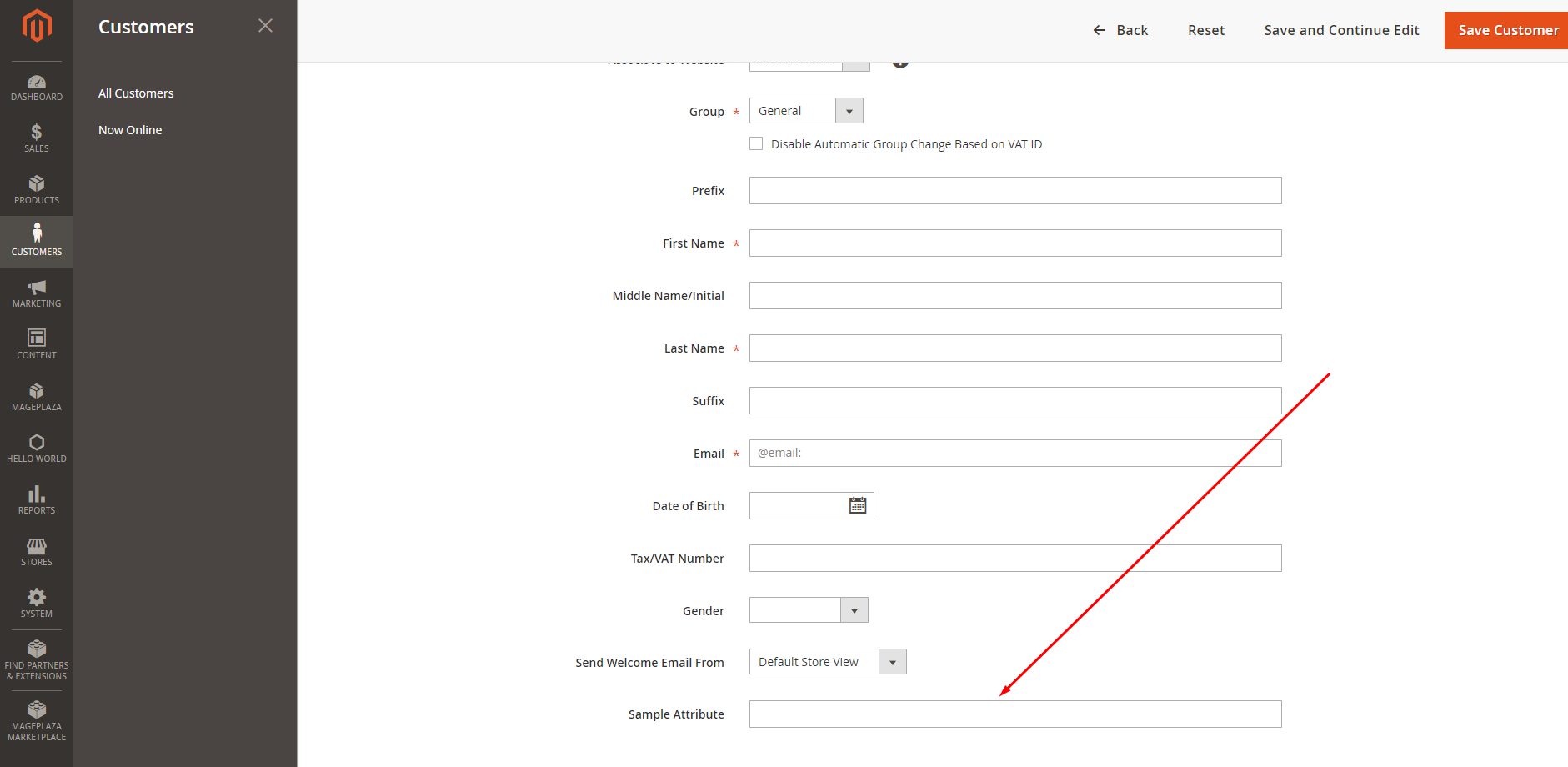 How To Add Customer Attribute Programmatically – Mageplaza