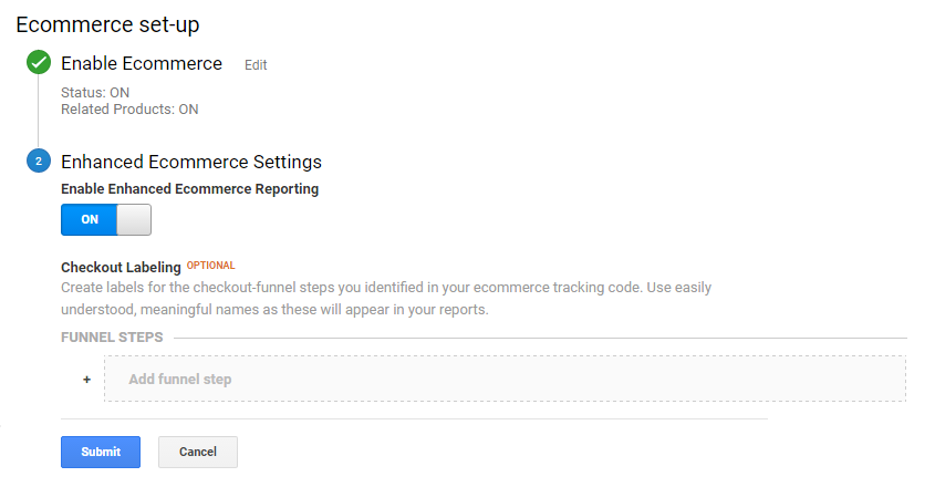 Google Analytics Enable Ecommerce Tracking 10