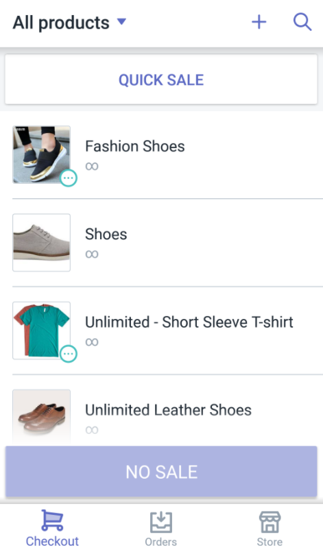 create a new product in Shopify POS for Android product