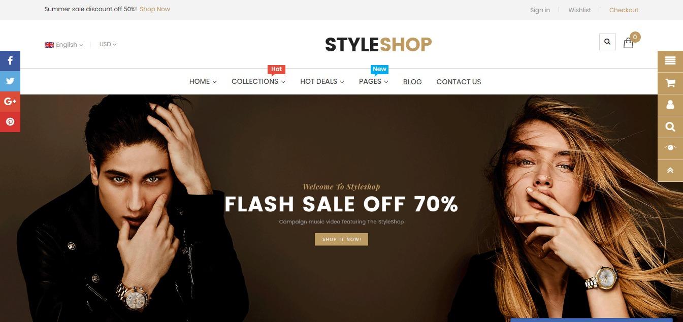 Style Shop theme