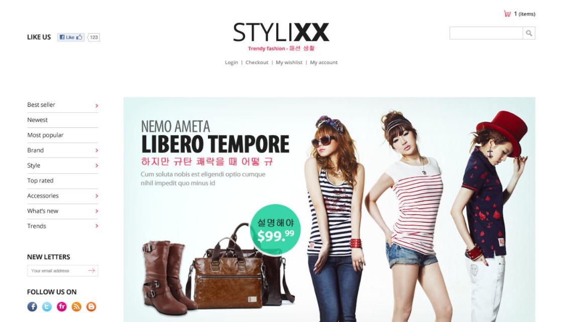 Stylixx theme