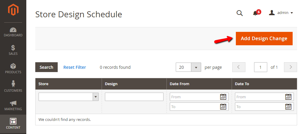How to Schedule Change Design