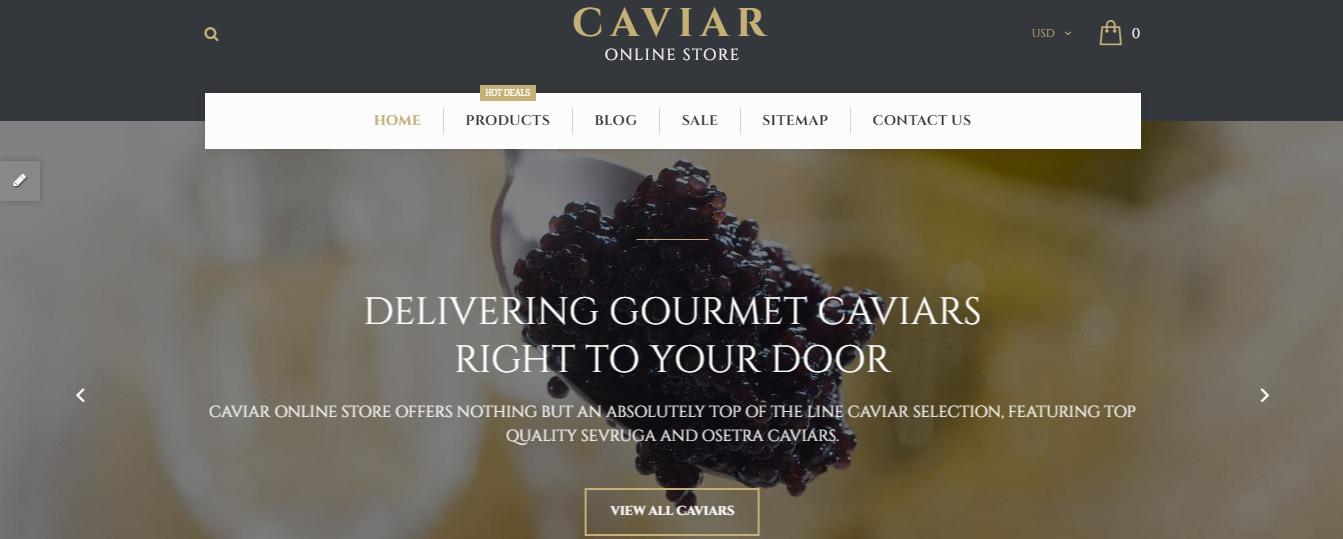 Caviar theme