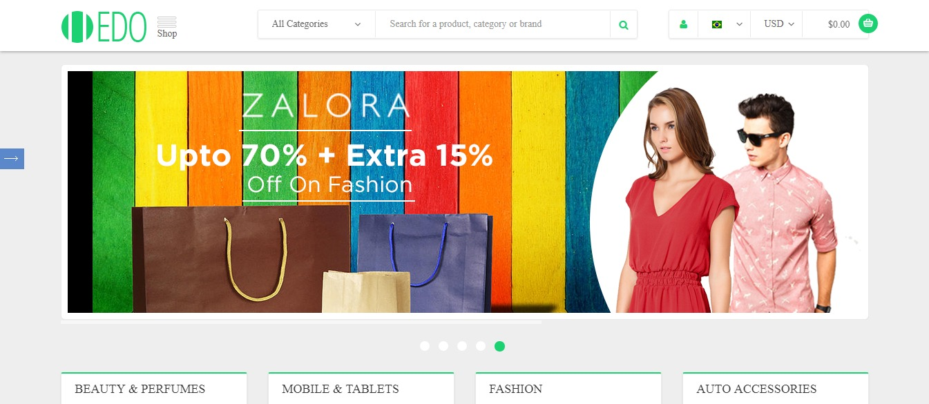 Shop Edo theme
