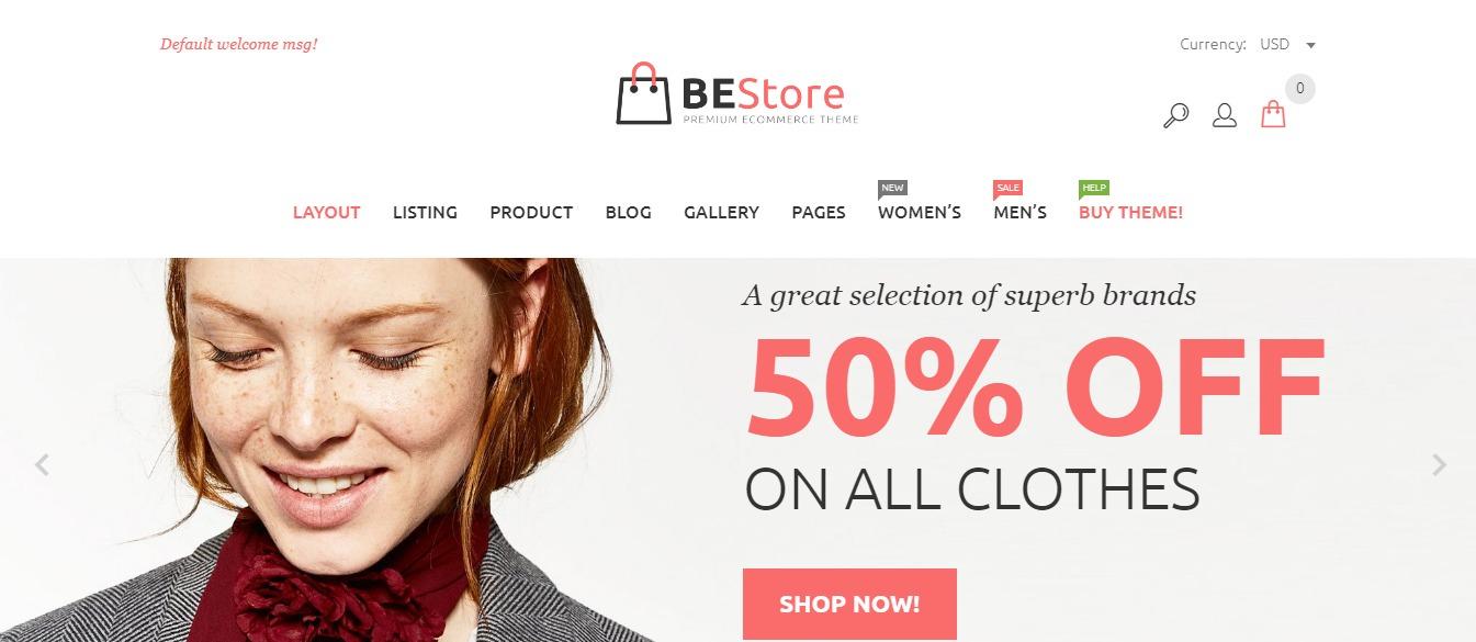 BEStore theme