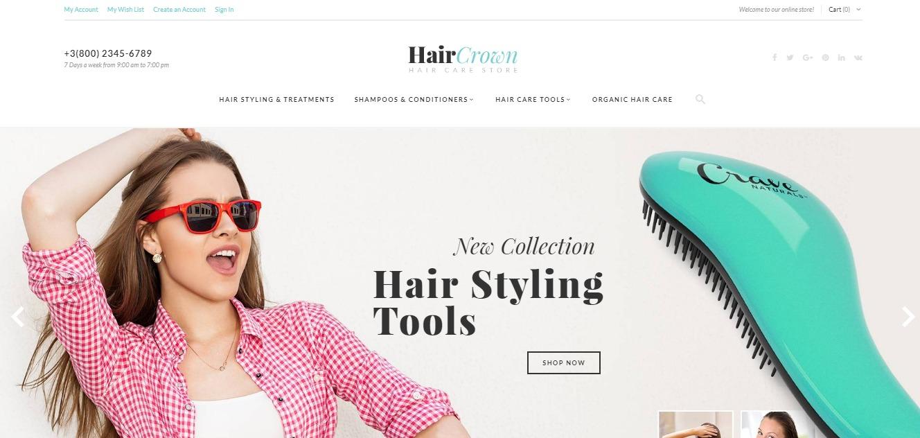 HairCrown theme