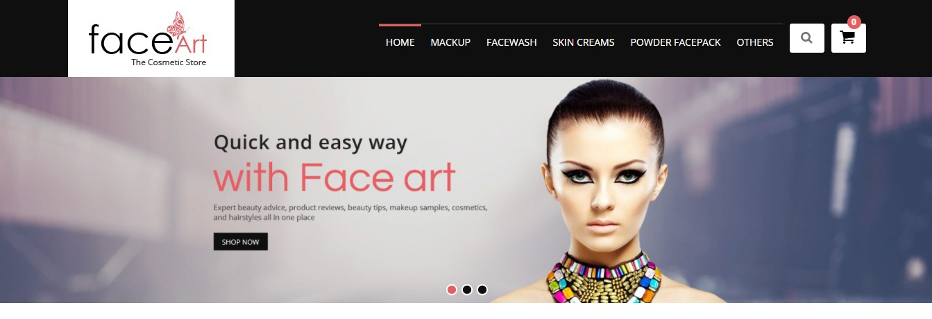 Face Art theme