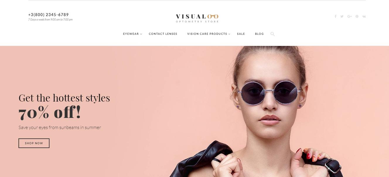 Visualoo theme