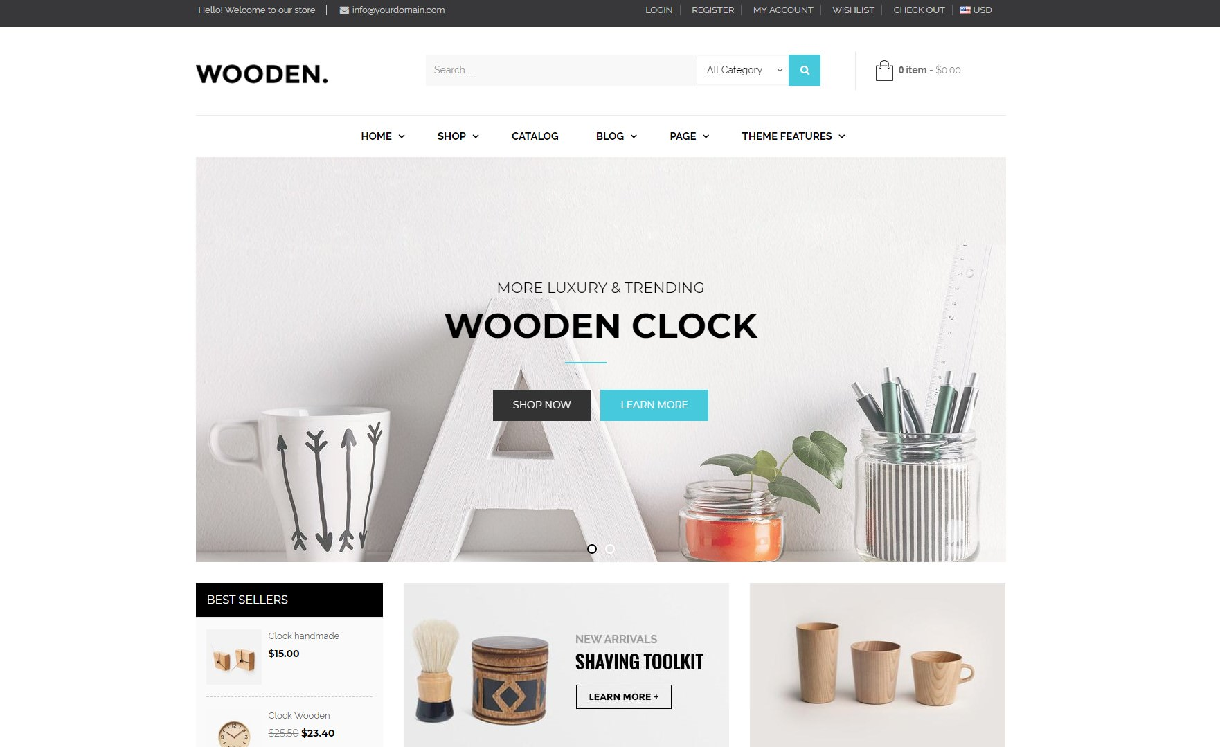 Ap Wooden theme