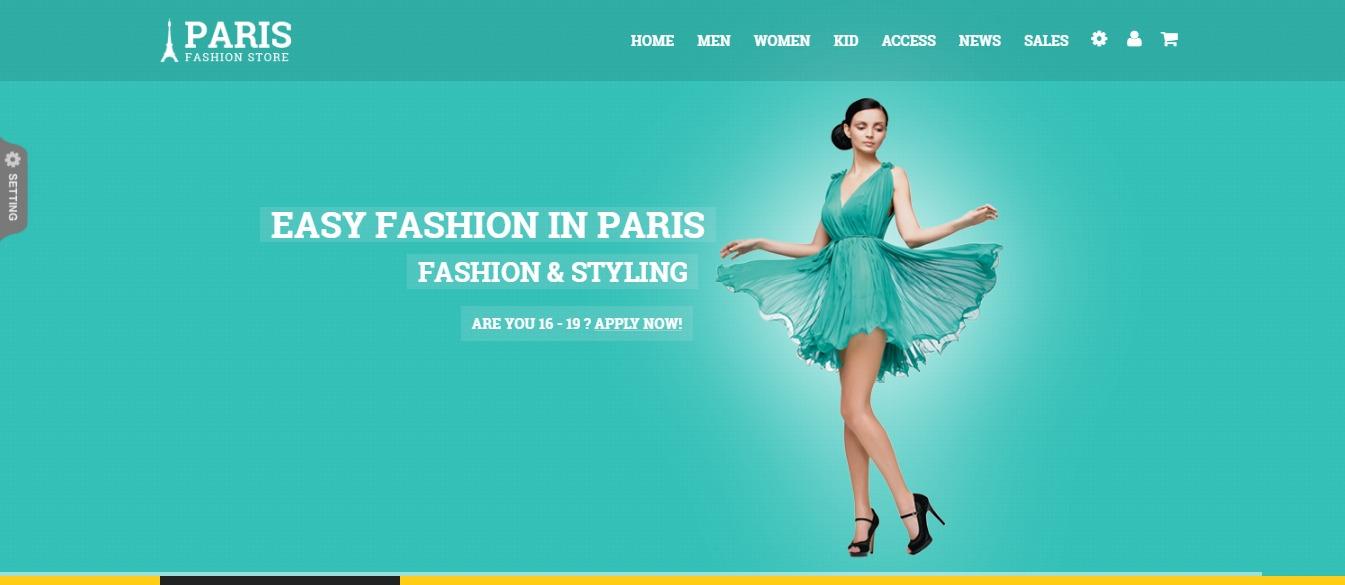 SNS Paris theme