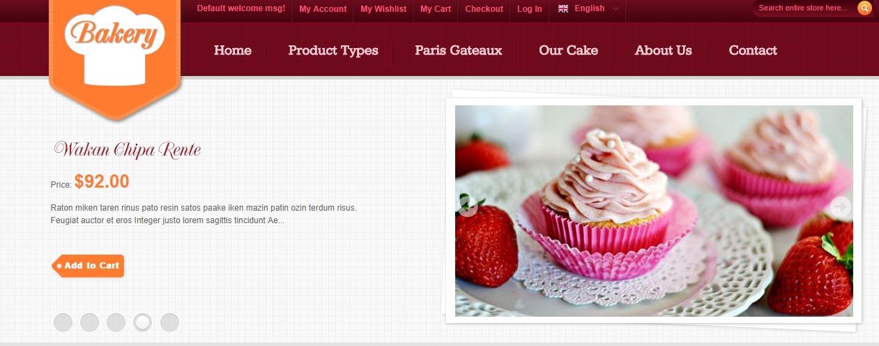 SM Bakery theme