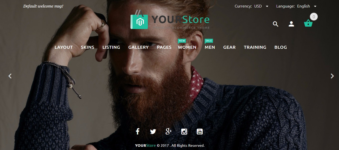 Yourstore theme
