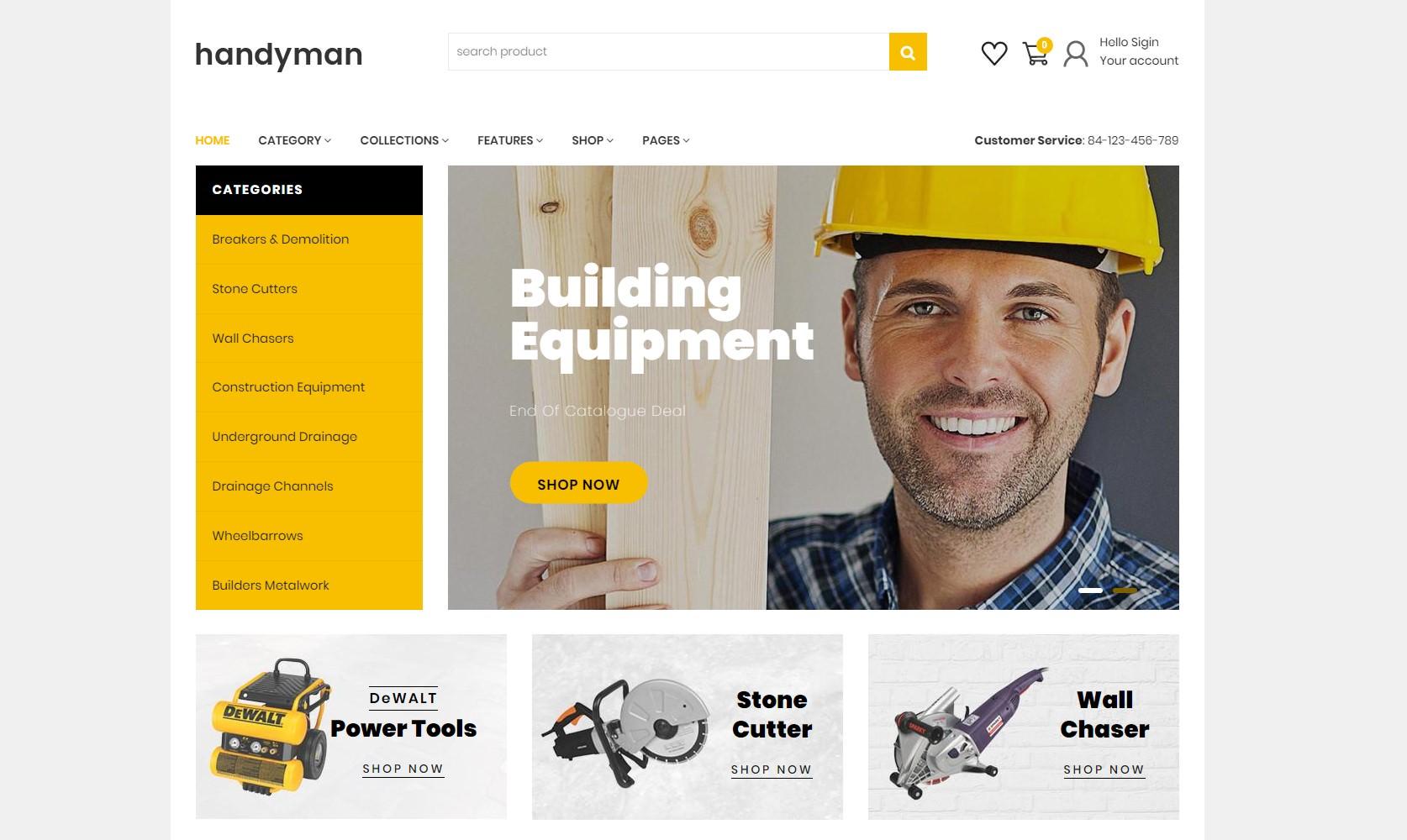 Handyman theme