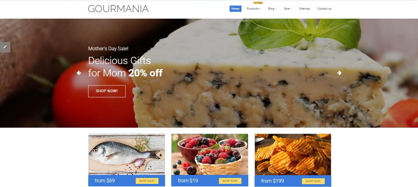 Gourmania theme