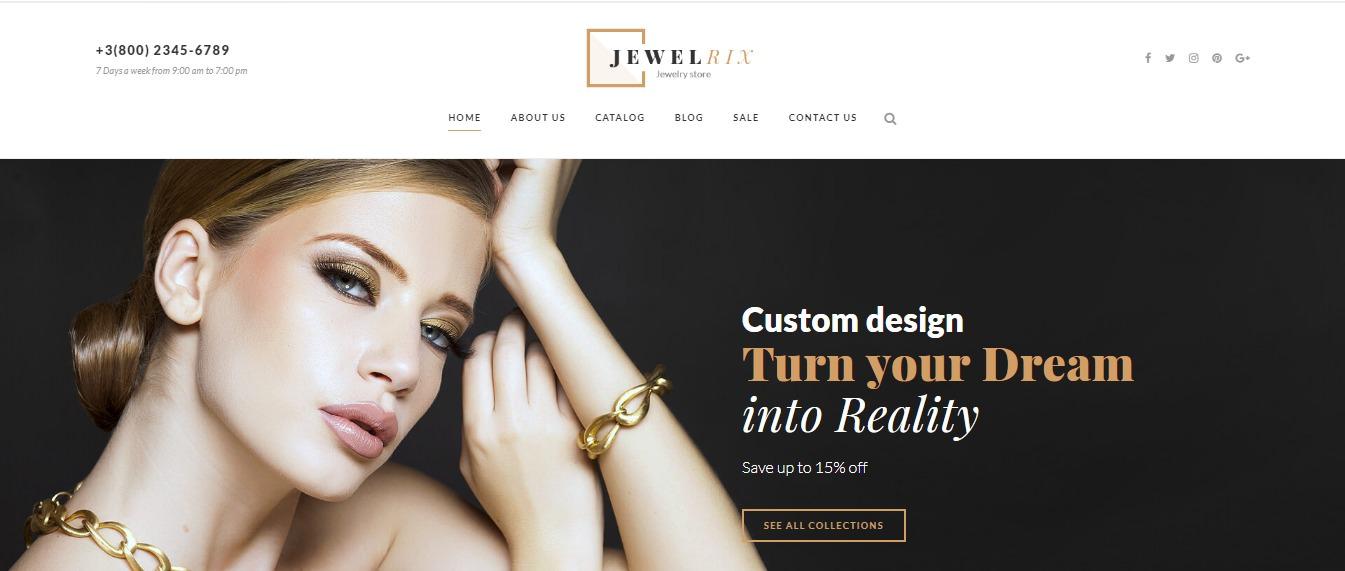 Jewelrix theme