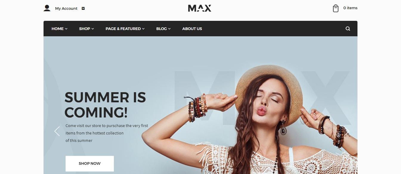Max theme