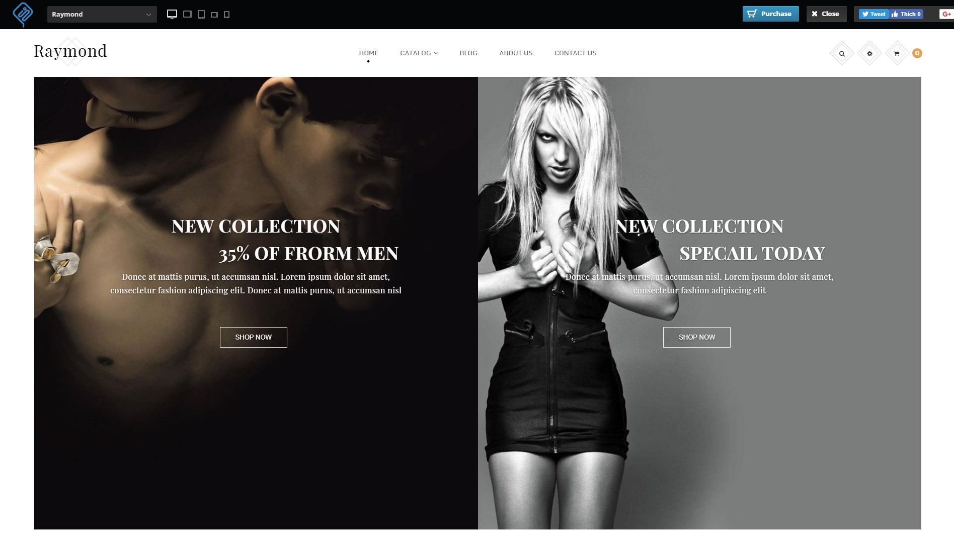 Shopify Mega Menu Themes