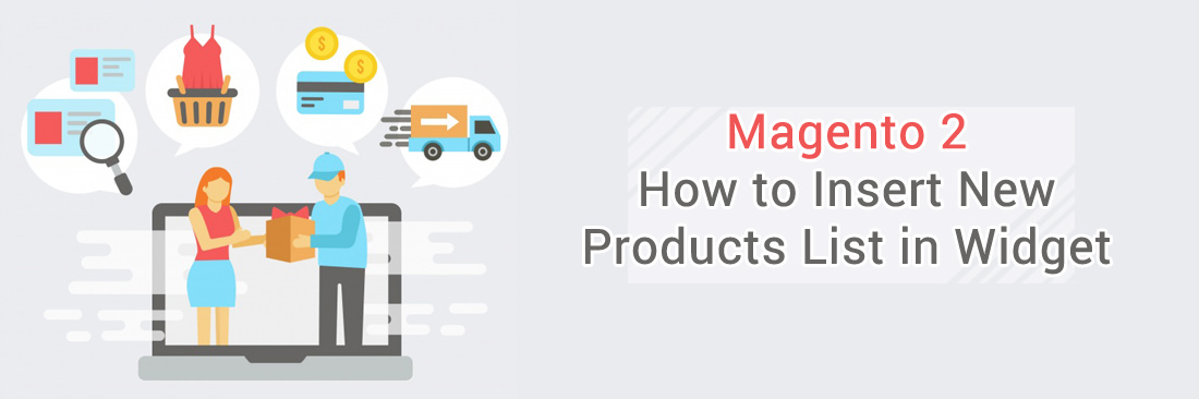Insert New Products List in Widget
