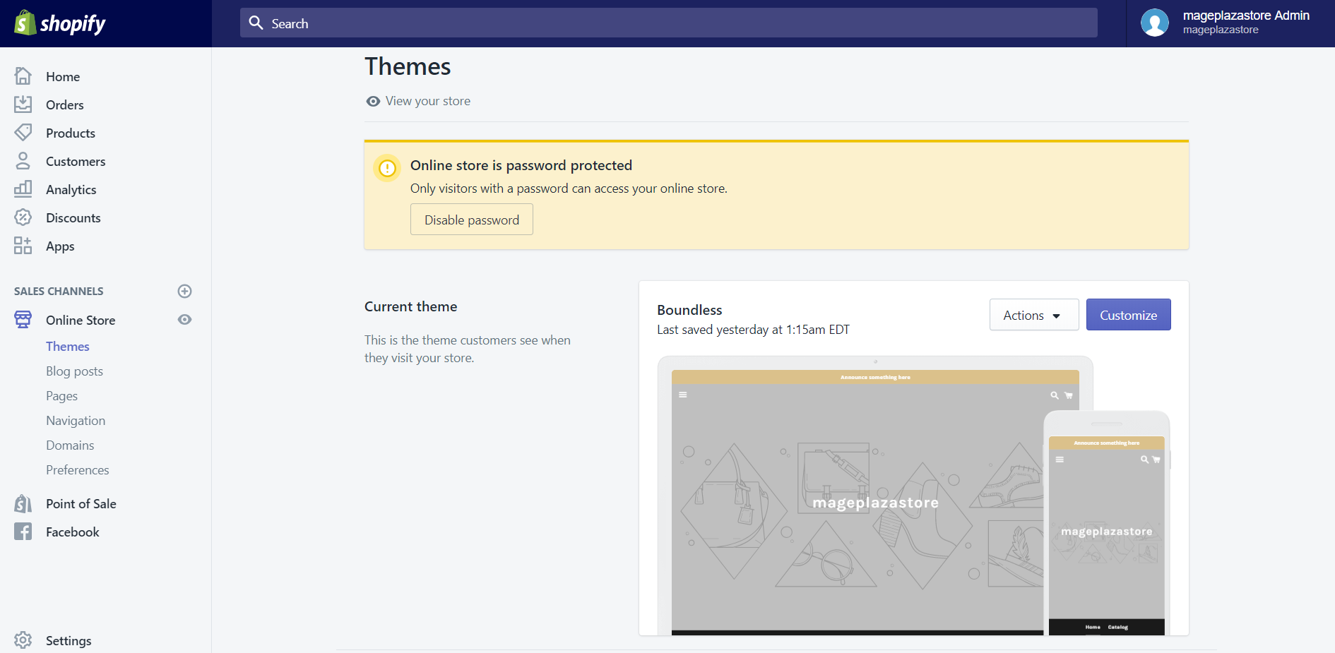 How to view paid themes on Desktop 1