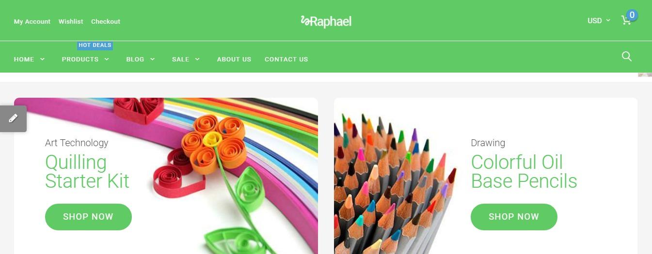 Raphael theme