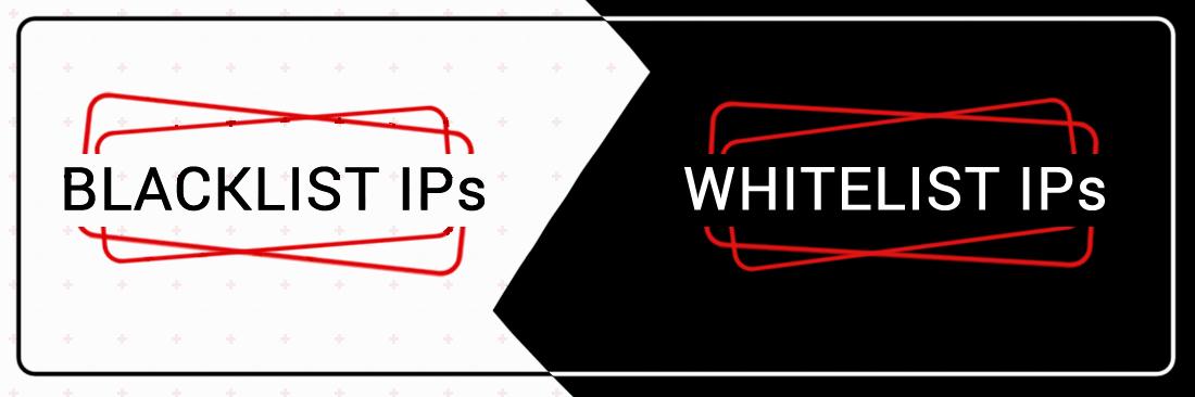 Blacklist and Whitelist IPs