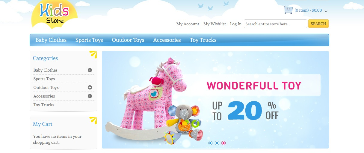 Kids Store theme