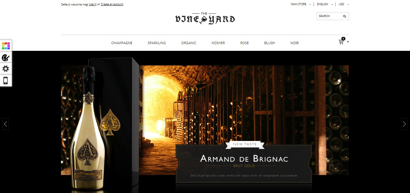 Best Magento Wine Store Themes Free Premium Mageplaza - Free invoices to email best online wine store