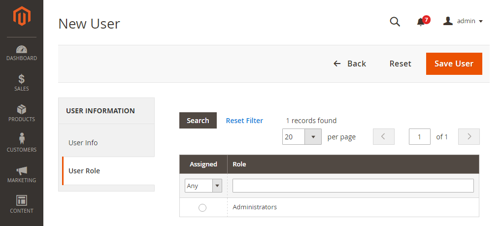 How to Create New Admin Magento 2