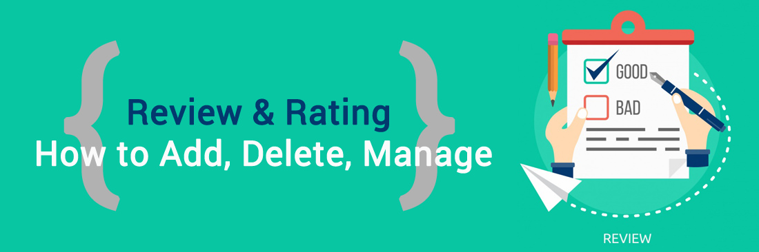 How to Manage Reviews and Ratings