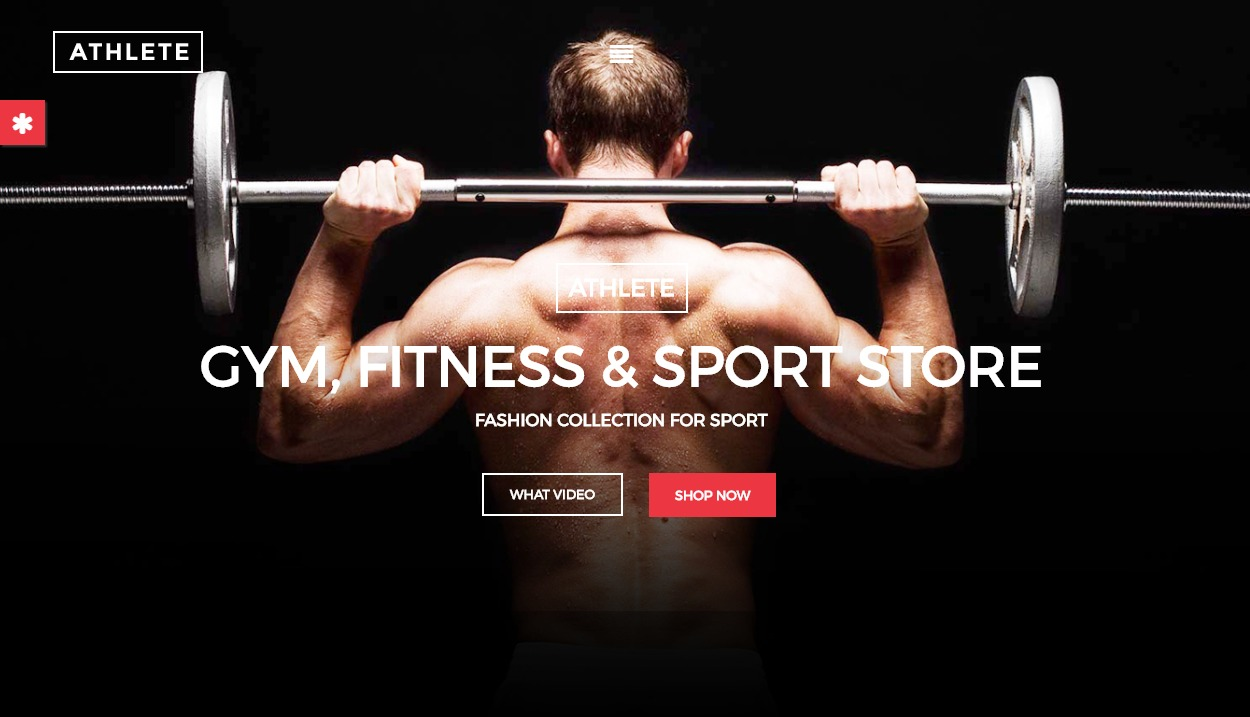Athlete theme