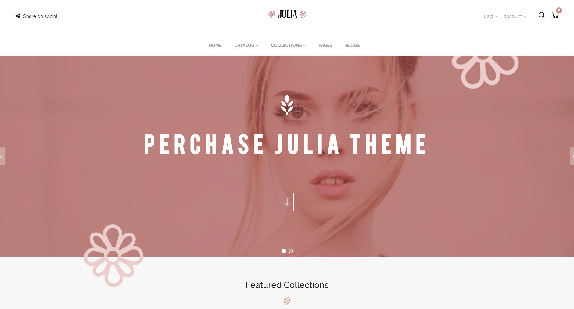 Julia theme