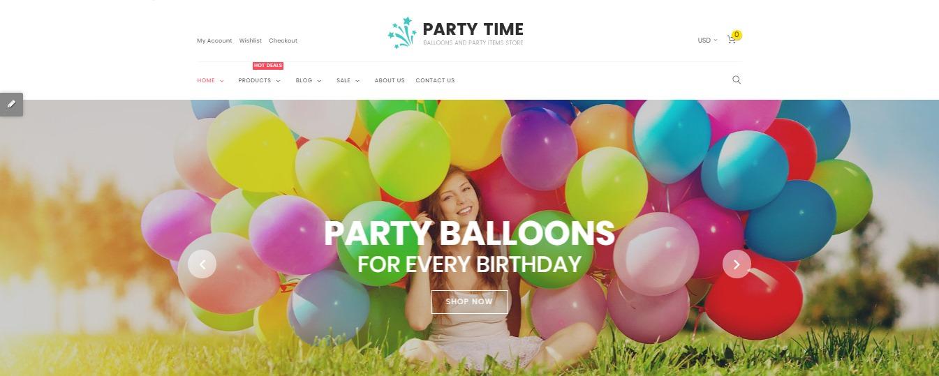 PartyTime theme