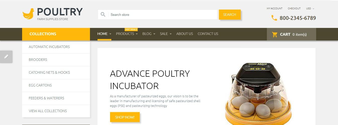 Poultry theme