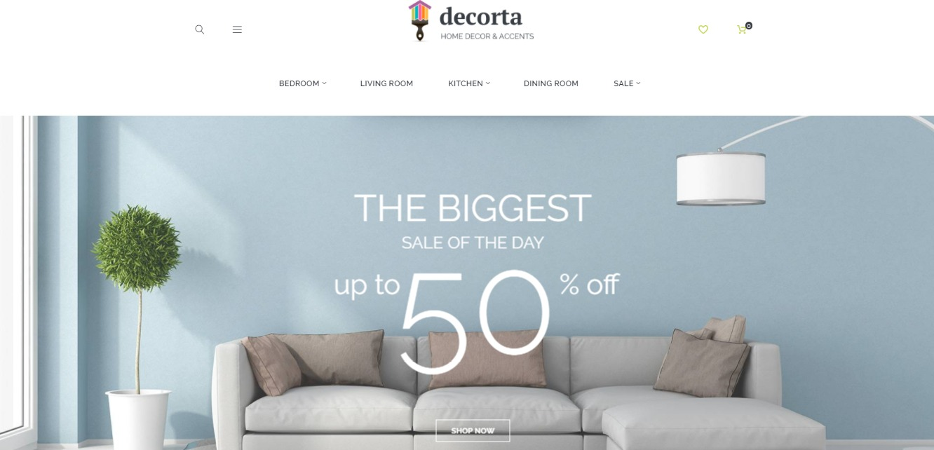 Decorta theme
