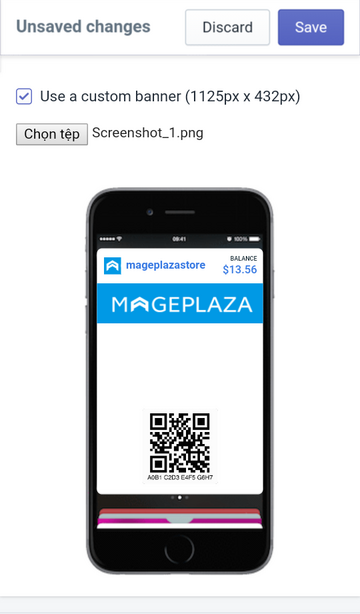 use a custom banner on Apple Wallet Passes