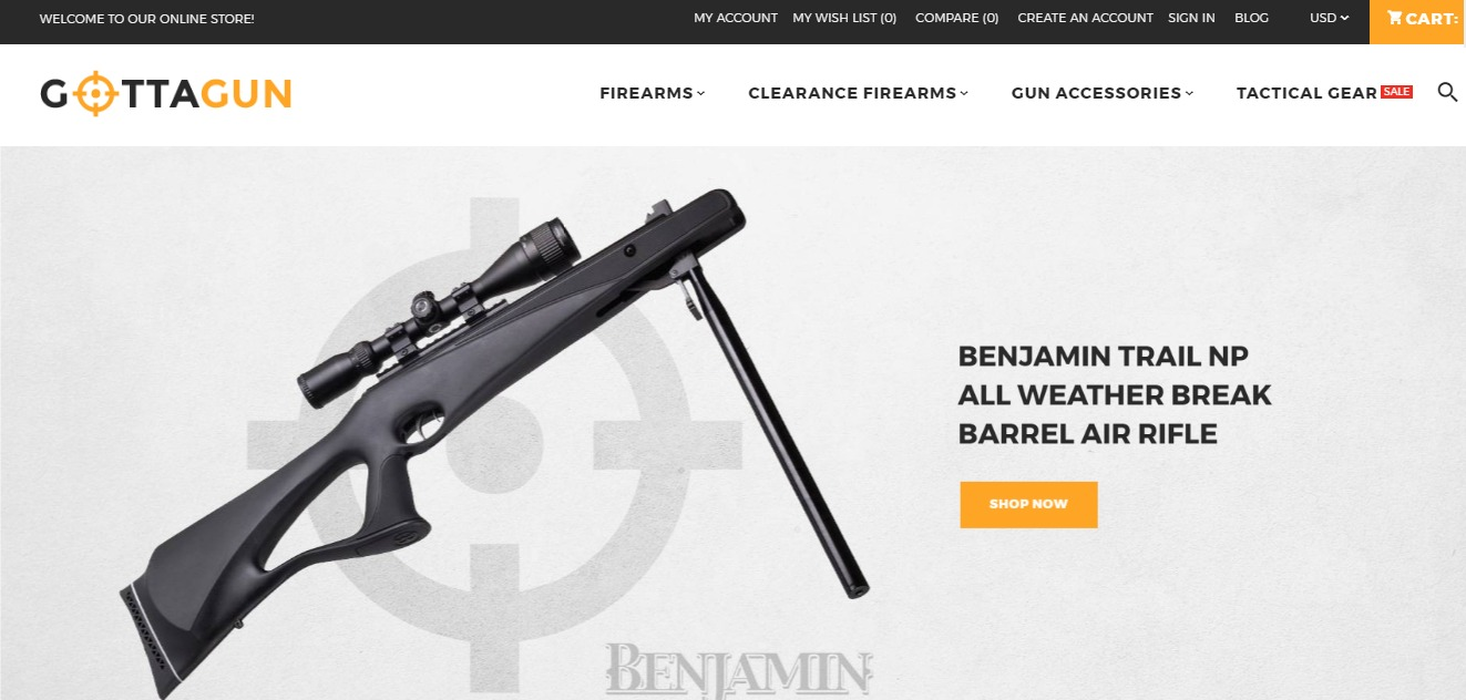 Magento Themes Best Free Premium Themes For Magento Mageplaza - Free invoice for mac best online gun store