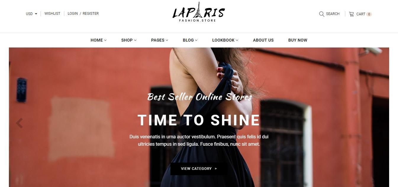 LaParis theme