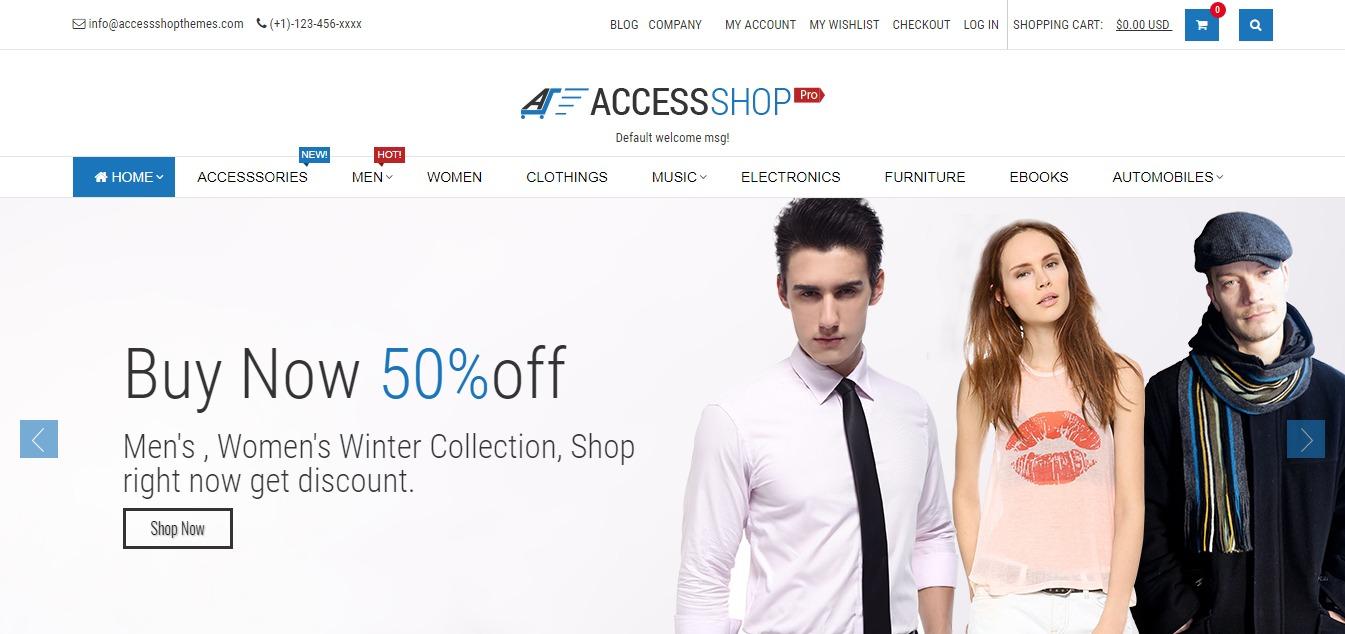 AccessPress Shop PRO theme