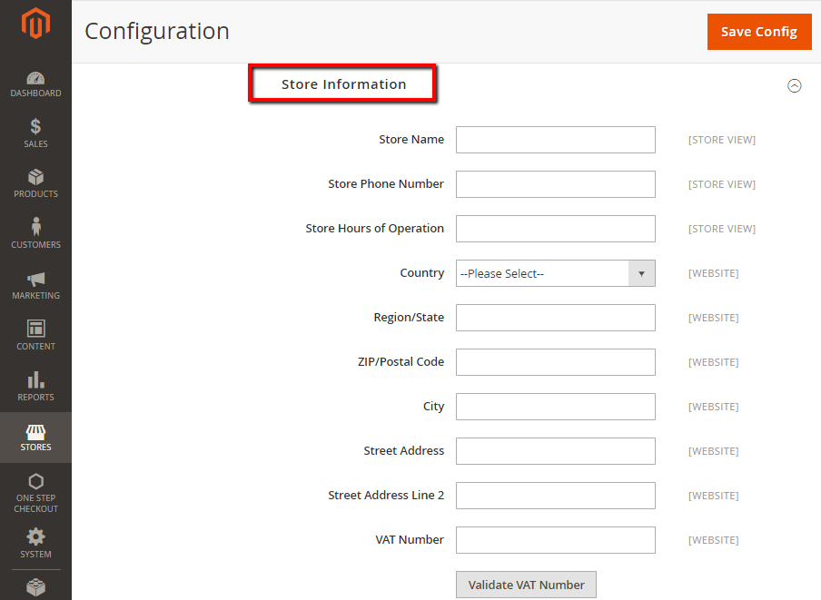 How to Configure Shipping Labels