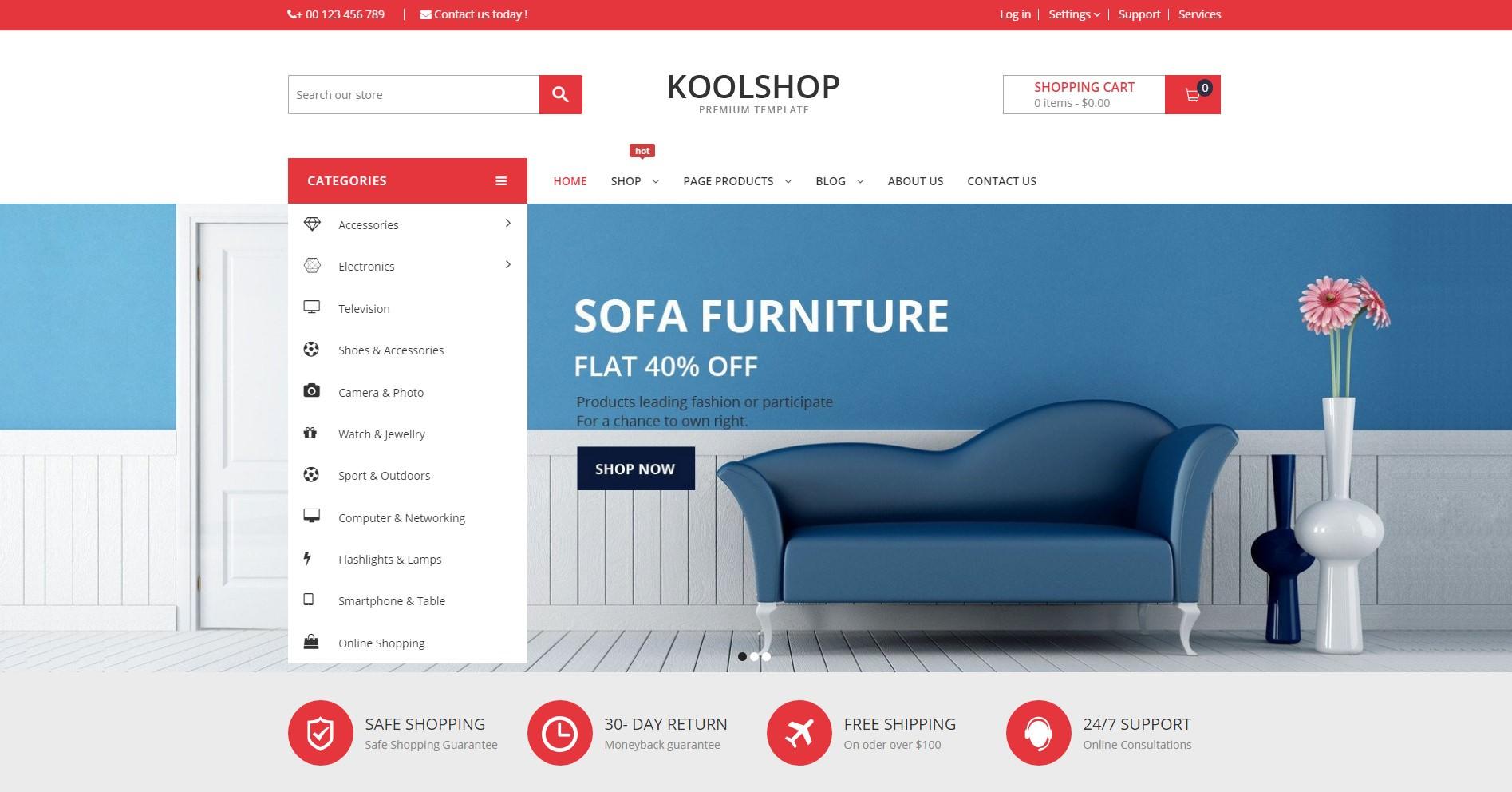 KoolShop theme