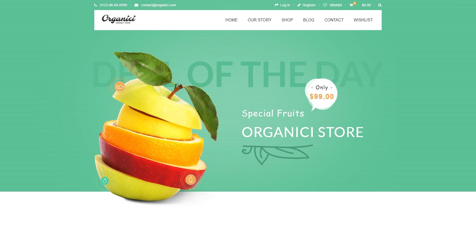 Organici theme