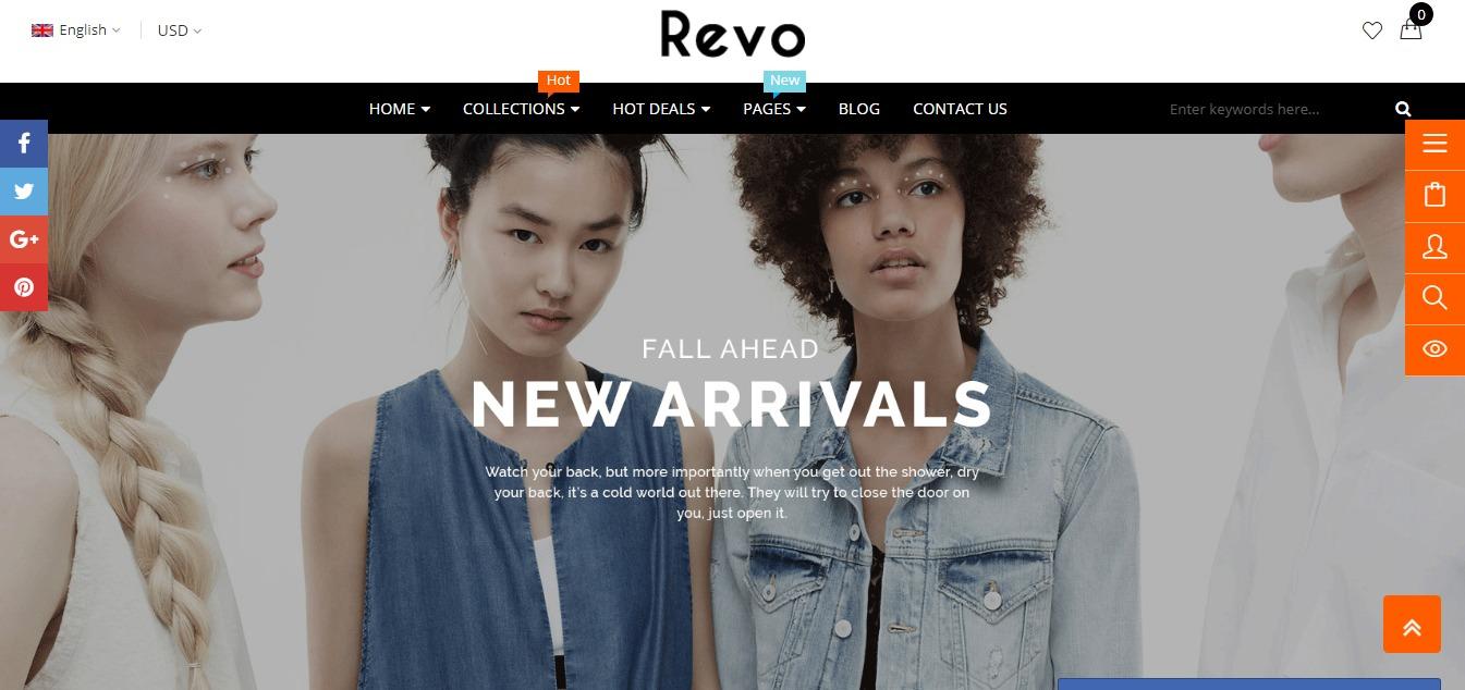 Revo theme