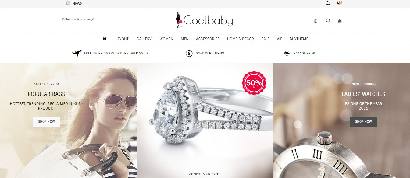 Coolbaby theme
