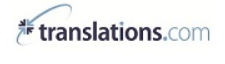 TransPerfect Translations International, Inc. Logo