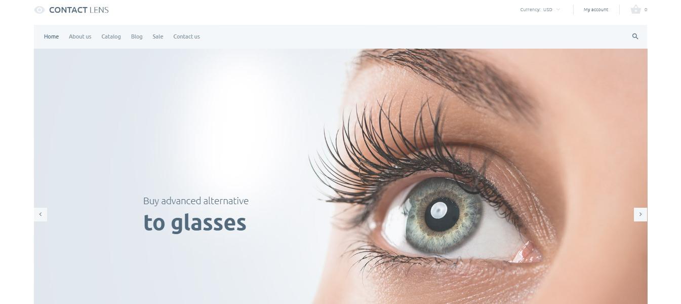 Contact Lens  theme