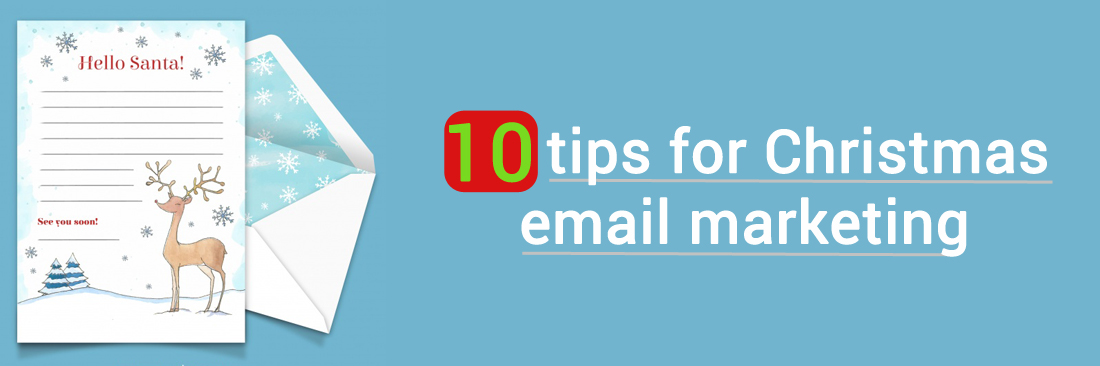 10 tips for Christmas email marketing
